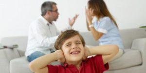 Divort cu minori